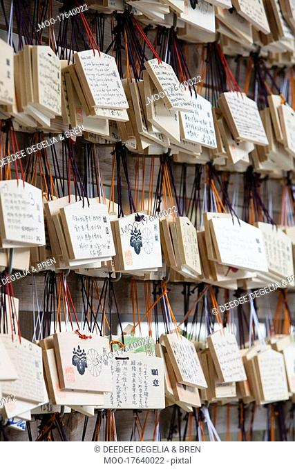 Ema Plaques at Meiji Shinto Shrine