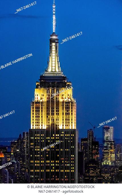 Empire State Building, New York, New York USA