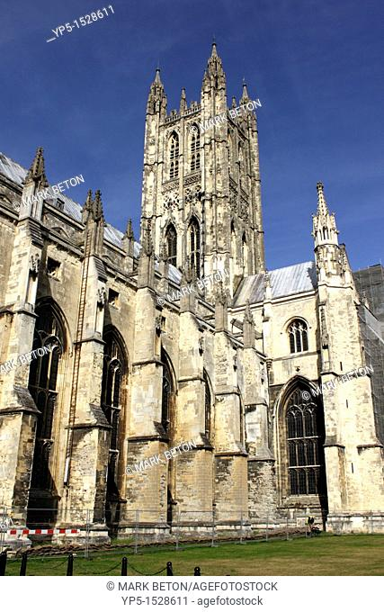 Canterbury Cathedral and Bell Harry Tower Kent