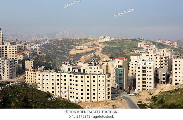 Ramallah city, west bank, Palestine