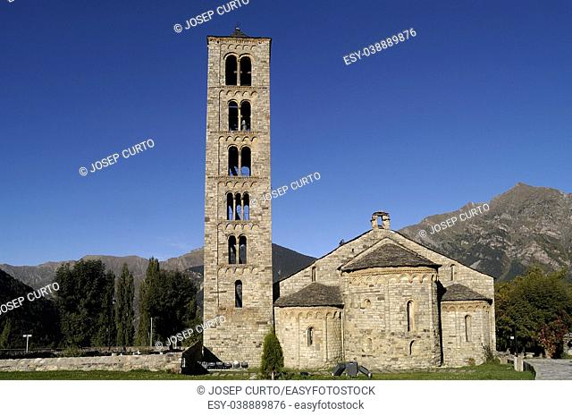 Romanesque Church of Sant Climent de Taull, Lleida province, Spain