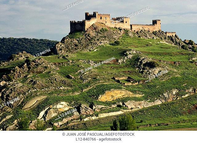 Castillo Riba de Santiuste, provincia de Guadalajara, Castilla la Mancha, Spain