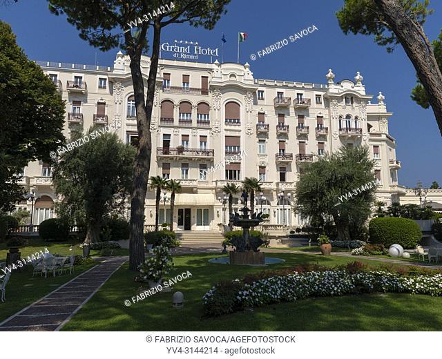 The Grand Hotel, Rimini, Emilia Romagna, Italy