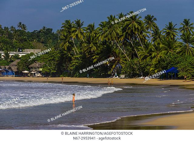 Mirissa Beach, south coast of Sri Lanka