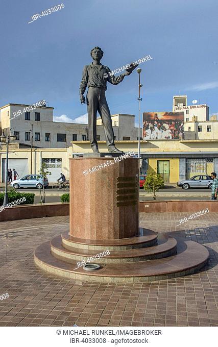 Pushkin statue, Asmara, Eritrea