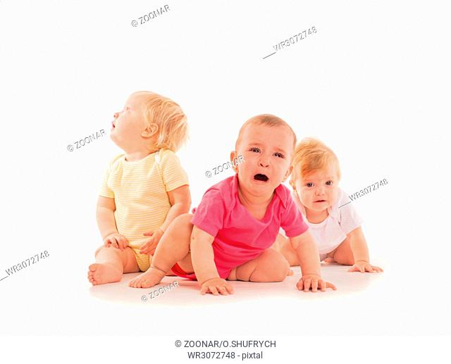 Children's grief of the three babies