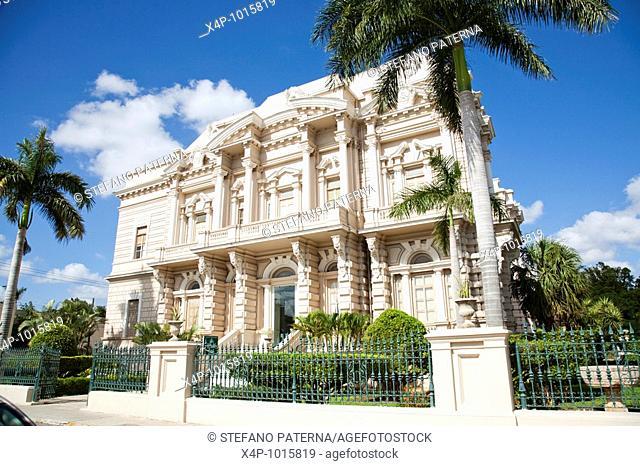 Palacio Canton the Archaeology Museum  Merida, Yucatan, Mexico