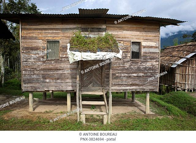Rustic house, Framin, Papua New Guinea