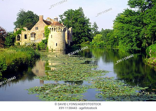 Scotney Castle and gardens open to the public  Kent, England