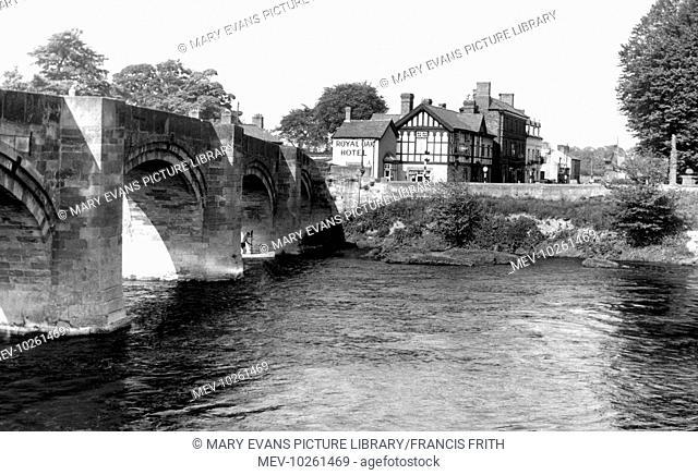 Bangor-Is-Coed, Bridge c1955