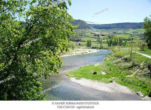 Tarn River, Aveyron department, Midi-Pyrénées, France