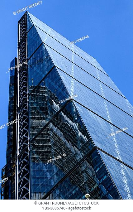 The Leadenhall Building, also known as The Cheesegrater, London, England