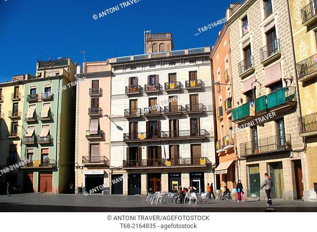 Plaza Mayor, Manresa, Barcelona, Spain