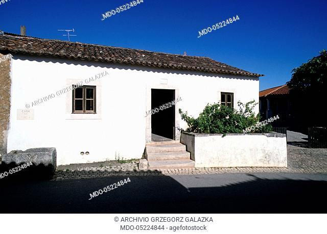 The native home of Sister Lucia dos Santos - one of the shepherd children of Fatima. Aljustrel, Portugal. 30th June 2000