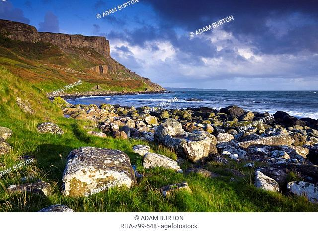 Murlough Bay and Fair Head, Causeway Coast, County Antrim, Ulster, Northern Ireland, United Kingdom, Europe