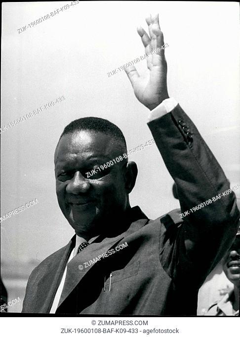 Feb. 28, 2012 - Siaka Probyn Stevens, President of Sierra Leone. Born 1905. Educated Freetown, Ruskin College Oxford. Legislative Council, 1951