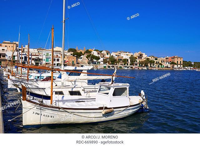 Mallorca, Porto Colom, Felanitx, Palma, Majorca, Balearic Islands, Spain, europe