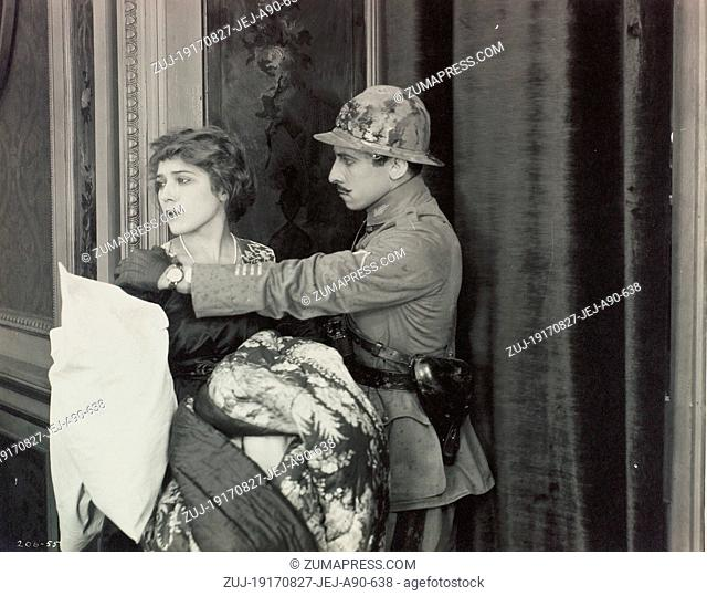 RELEASE DATE: August 27, 1917  MOVIE TITLE: The Little American  STUDIO: Mary Pickford Company  PLOT: A young American has her ship torpedoed by a German U-boat...