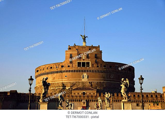 Castle Sant' Angelo against clear sky