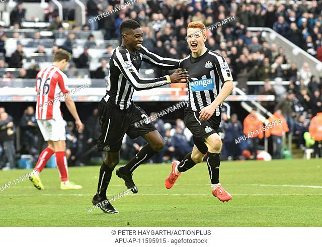 2015 Barclays Premier League Newcastle v Stoke Feb 8th. 08.02.2015. Newcastle, England. Barclays Premier League. Newcastle United versus Stoke City