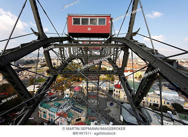 Giant wheel at Prater, Vienna, Austria, Europe