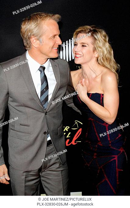 Patrick Fabian and Rhea Seehorn at Season Two Premiere of Better Call Saul Special Screening held at Arclight Cinemas - Culver City in Culver City, CA