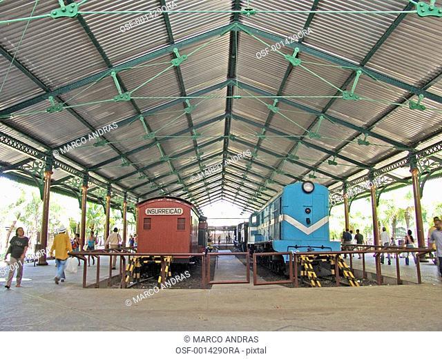 pernambuco train rail station not in fuction