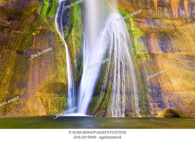 Lower Calf Creek Falls, Grand Staircase-Escalante National Monument, Utah USA