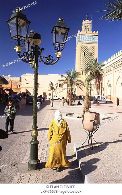 Kasbah Mosque, Marrakech, Marocco, Africa