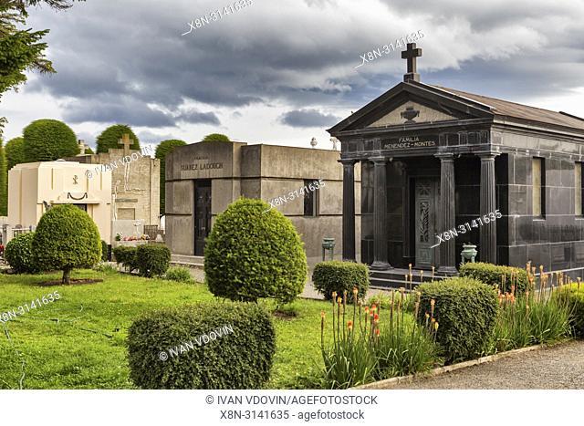 Old cemetery, Punta Arenas, Magallanes region, Patagonia, Chile