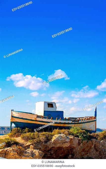 Tabarca island in Alicante Valencian Community of Spain