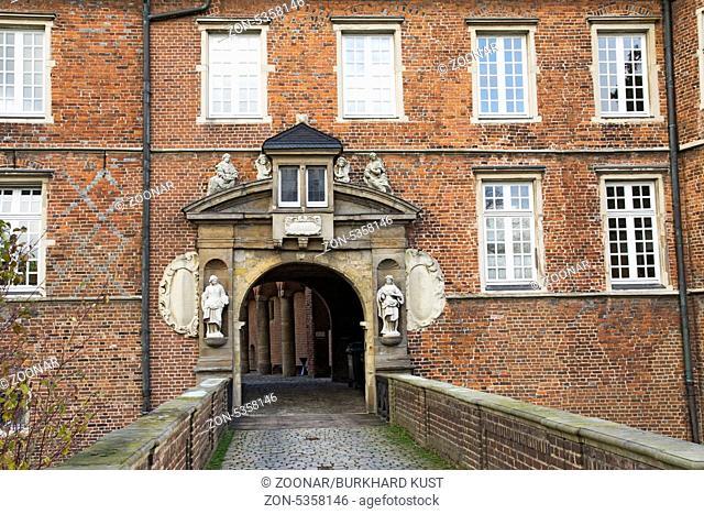 Moated Castle in Herten, Germany