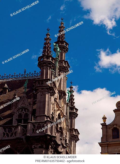 Maison du Roi, Brussels, Belgium, July 2015 / Maison du Roi, Brüssel, Belgien, Juli 2015