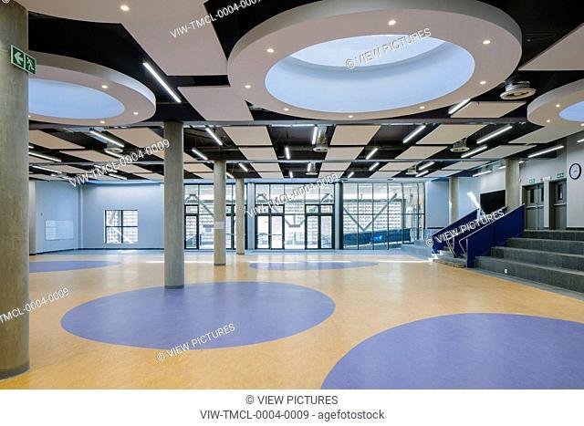 Multi-purpose hall. Sol Plaatjie University, C002, Kimberley, South Africa. Architect: Savage + Dodd Architects, 2016