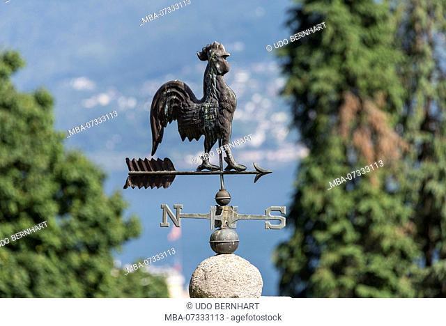 Weathercock, Locarno, Lake Maggiore, Ticino, Switzerland