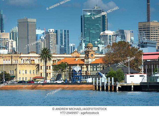 Garden Island Naval base, Sydney, New South Wales, Australia