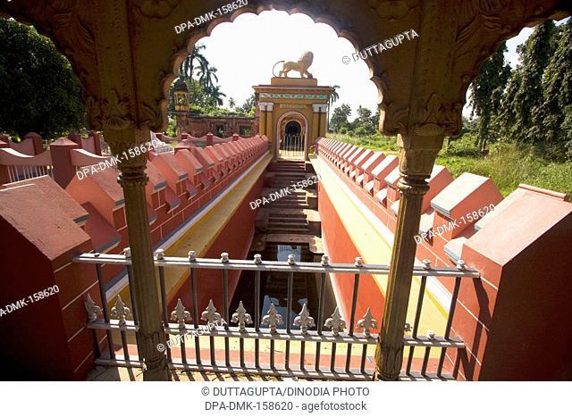 Main gate to enter Kat-Gola bagan palace ; Murshidabad ; West Bengal ; India Heritage Site