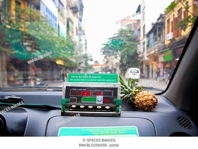 Street View from Taxi Interior