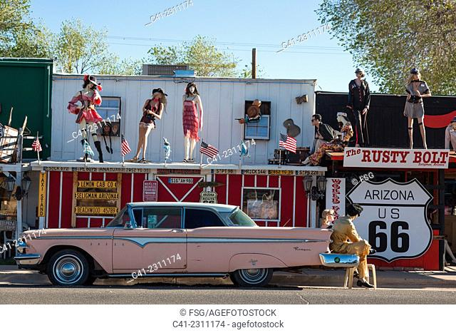 Seligman. Arizona, USA