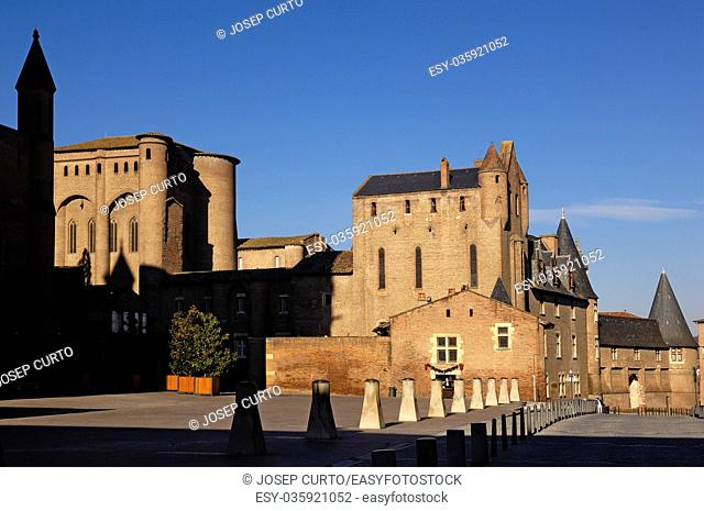 Cathedral of Albi Midi-Pyrenees, France