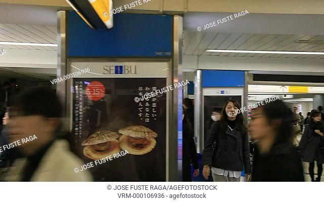 Japan, Tokyo City,Ikebukuro Station