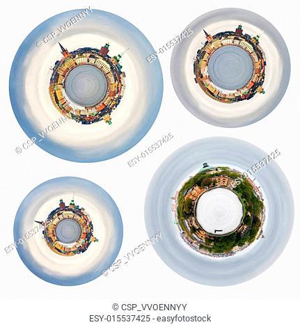 spherical panoramas of Stockholm cit