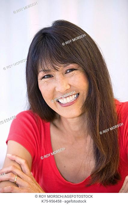 Portrait Chinese American woman