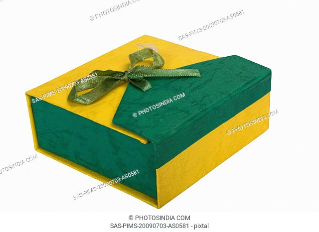 Close-up of a gift box