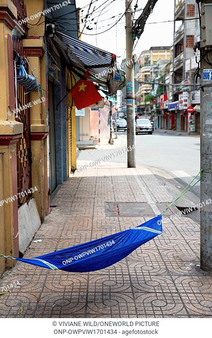 Vietnam, H? Chí Minh, Ho Chi Minh City, In the Chinese Quarter on the Vietnamese New Year's Day the Tet