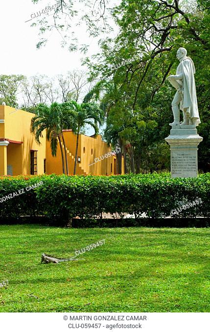 Monument to Simon Bolivar, Quinta of Saint Peter of Alexandria, Santa Marta, Magdalena, Colombia