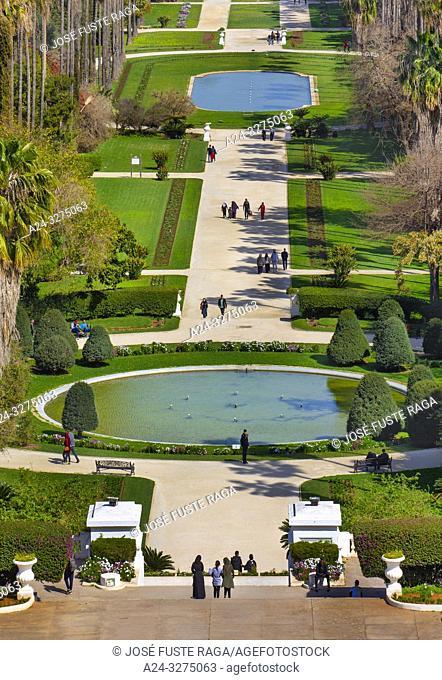 Algeria, Argel City, Essai Gardens, El Hamma