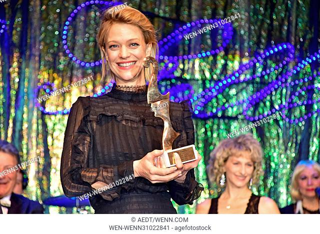 Notte delle Stelle - Premio Bacco at Hotel Maritim during 67th Berlin International Film Festival (Berlinale) Featuring: Heike Makatsch Where: Berlin