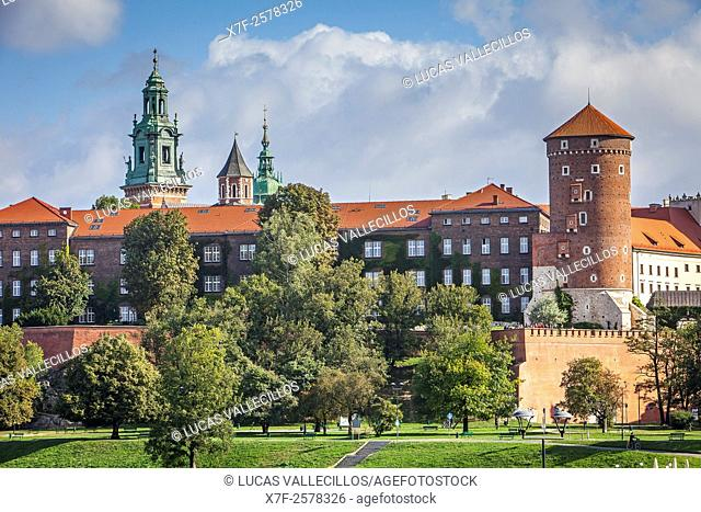 Wawel Royal Castle , Krakow, Poland