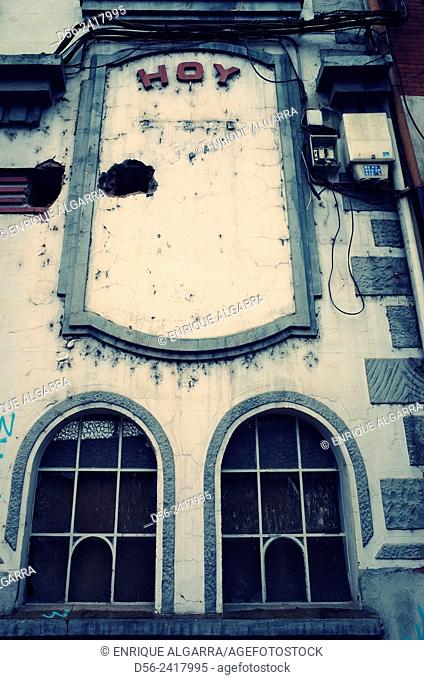Old cinema, Zamora, Castilla y Leon, Spain